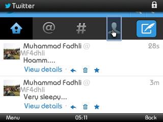 Twitter# Klik Icon