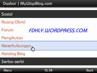 Mywapblog# Pilih Keterhubungan